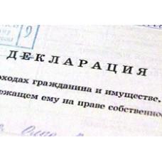 Планируется повысить грамотность и образованность при заполнении декларации об имуществе